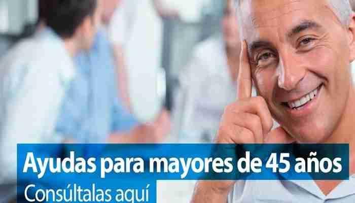 Conoce Las Ayudas Mayores A 45 Años